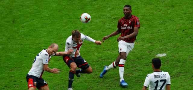 Rafael Leao tiro Milan Genoa lapresse 2020 640x300