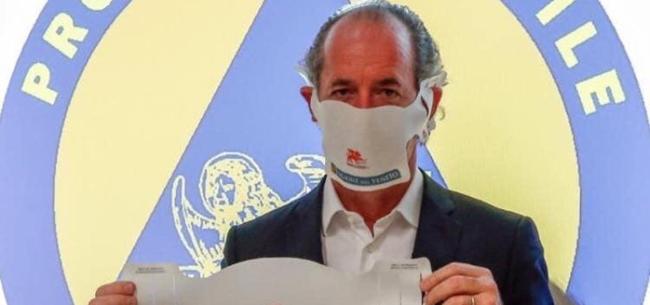 Governatore Luca Zaia