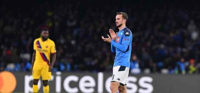 Fabian Ruiz Umtiti Napoli Barcellona lapresse 2020 640x300