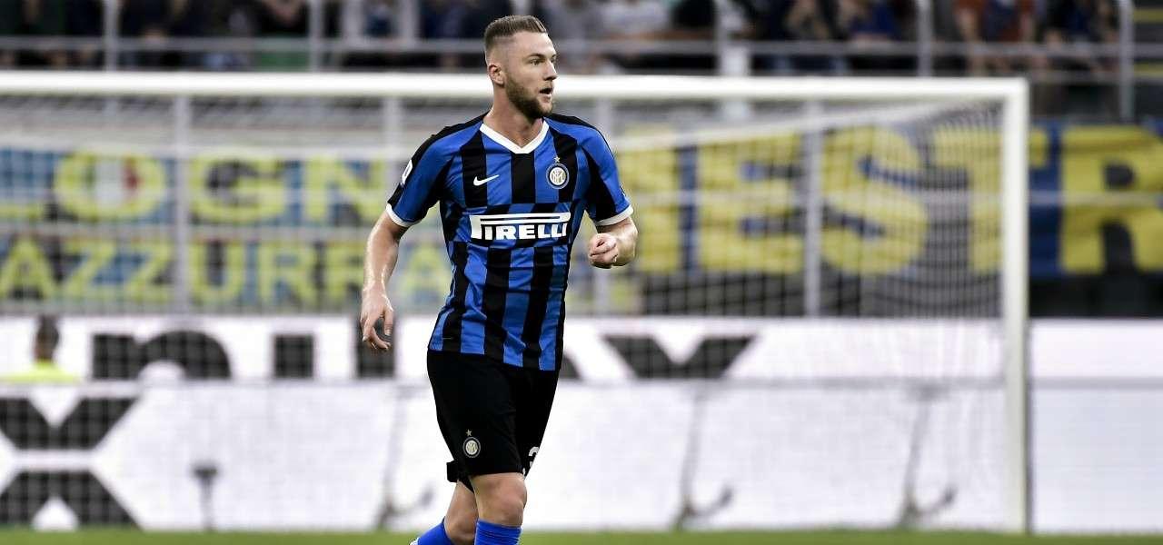 Milan Skriniar Inter impostazione lapresse 2020