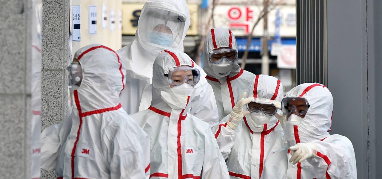 Corea del Sud medici Coronavirus