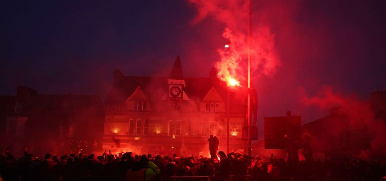 Liverpool tifosi Anfield lapresse 2020