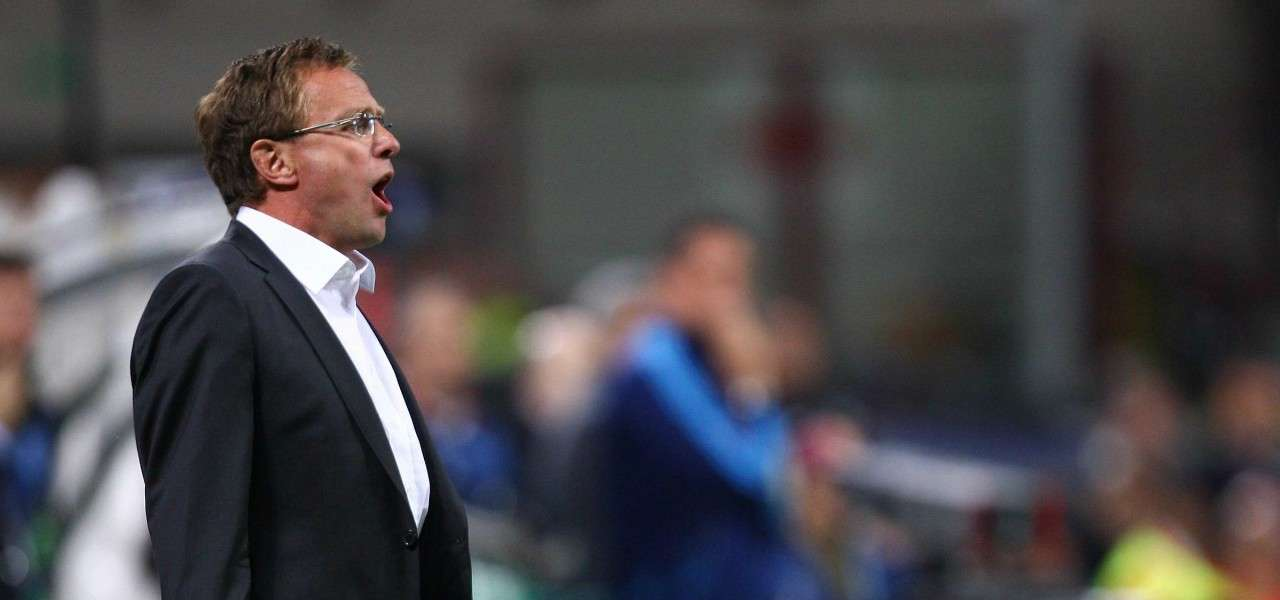 Ralf Rangnick urlo Schalke lapresse 2020