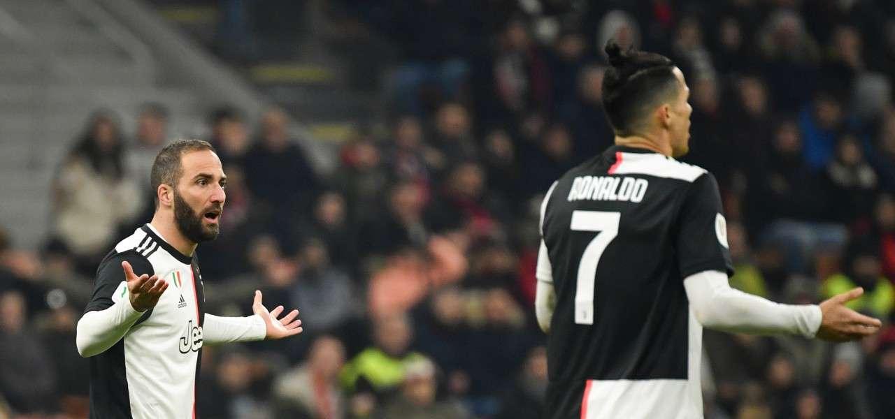 Higuain Ronaldo perplessi lapresse 2020