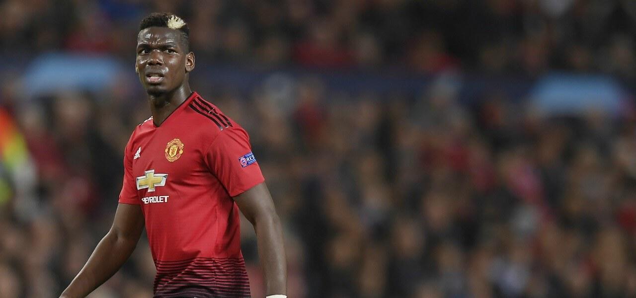 Paul Pogba Manchester United sguardo lapresse 2020