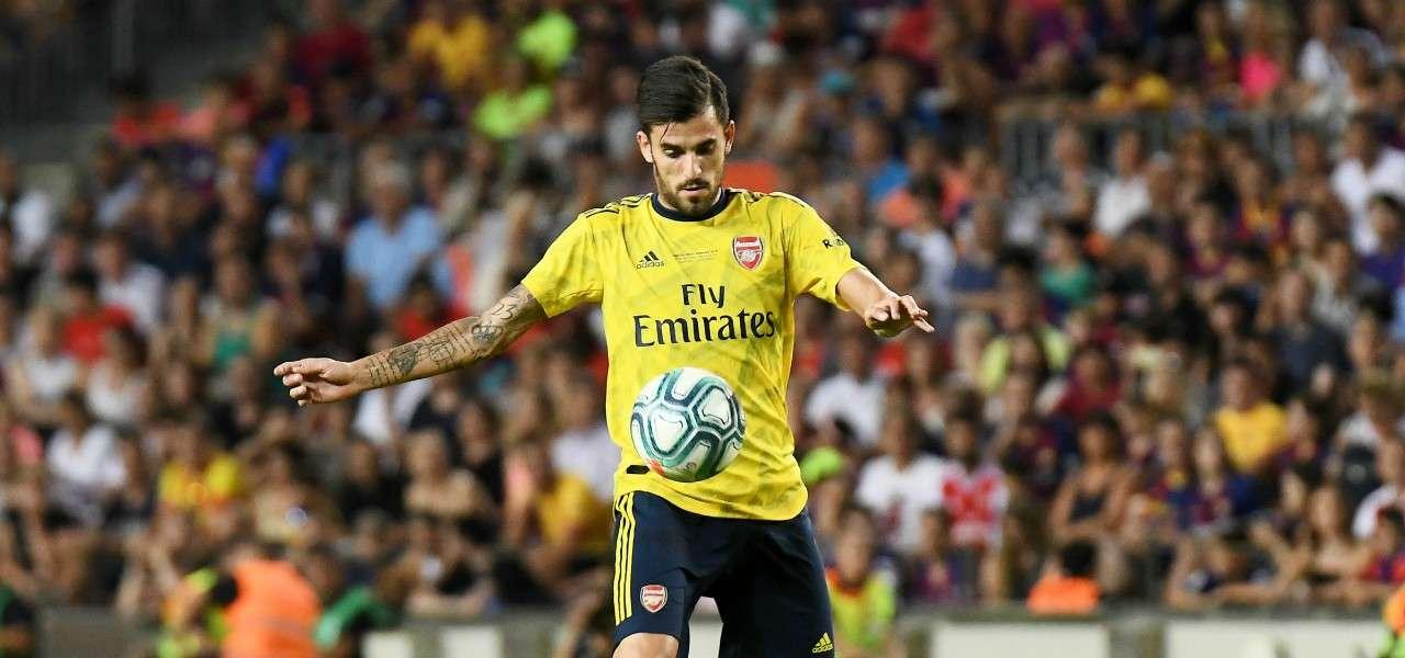 Dani Ceballos Arsenal stop lapresse 2020