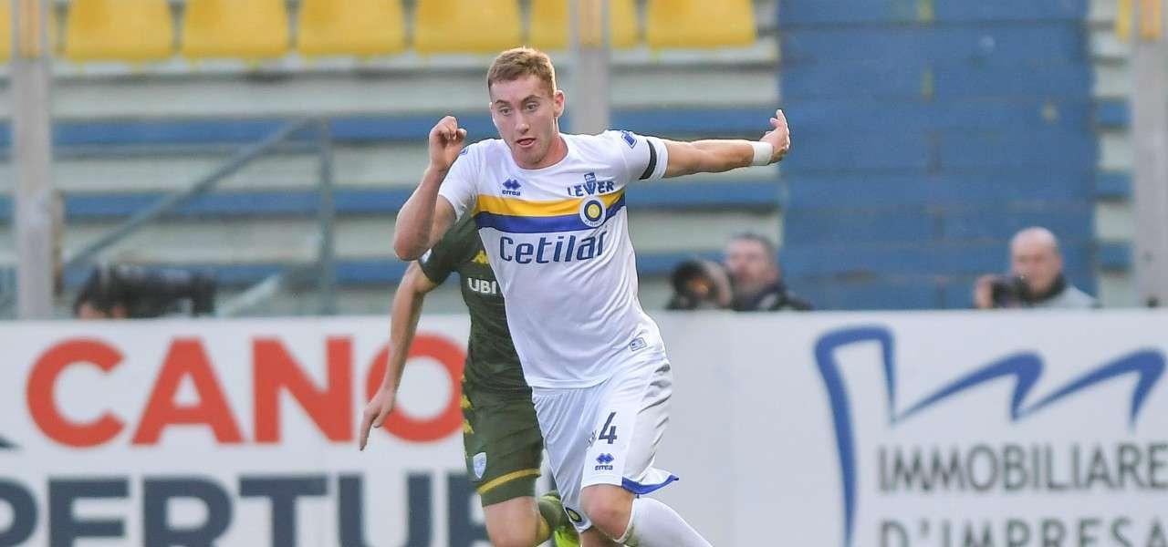 Dejan Kulusevski Parma Brescia lapresse 2020