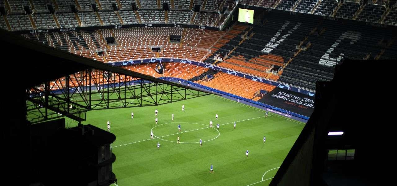 Mestalla Valencia vuoto lapresse 2020