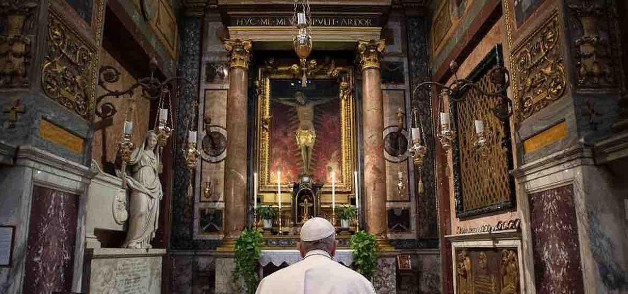 Il Crocifisso miracoloso di San Marcello