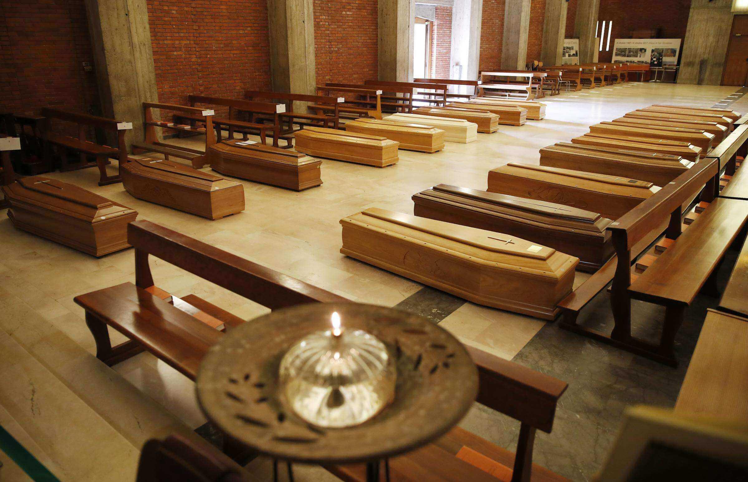 Seriate Bergamo bare cremazione
