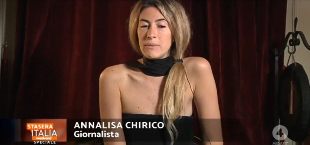 annalisa chirico stasera italia