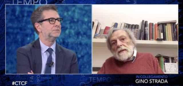 Gino Strada e Fabio Fazio