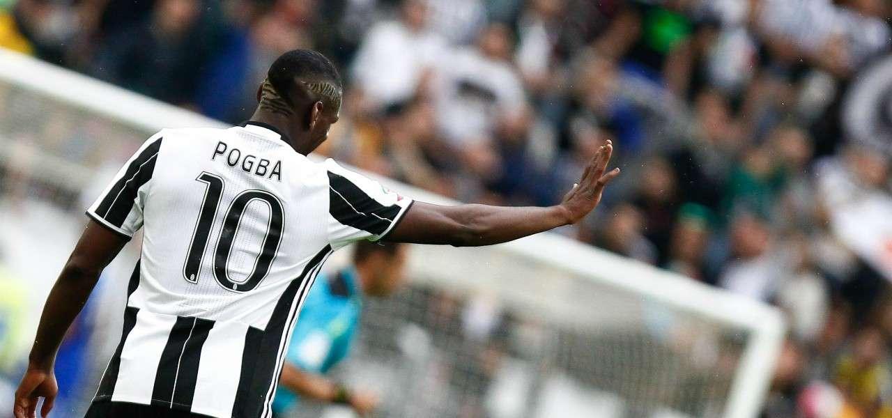 Paul Pogba Juventus saluto lapresse 2020