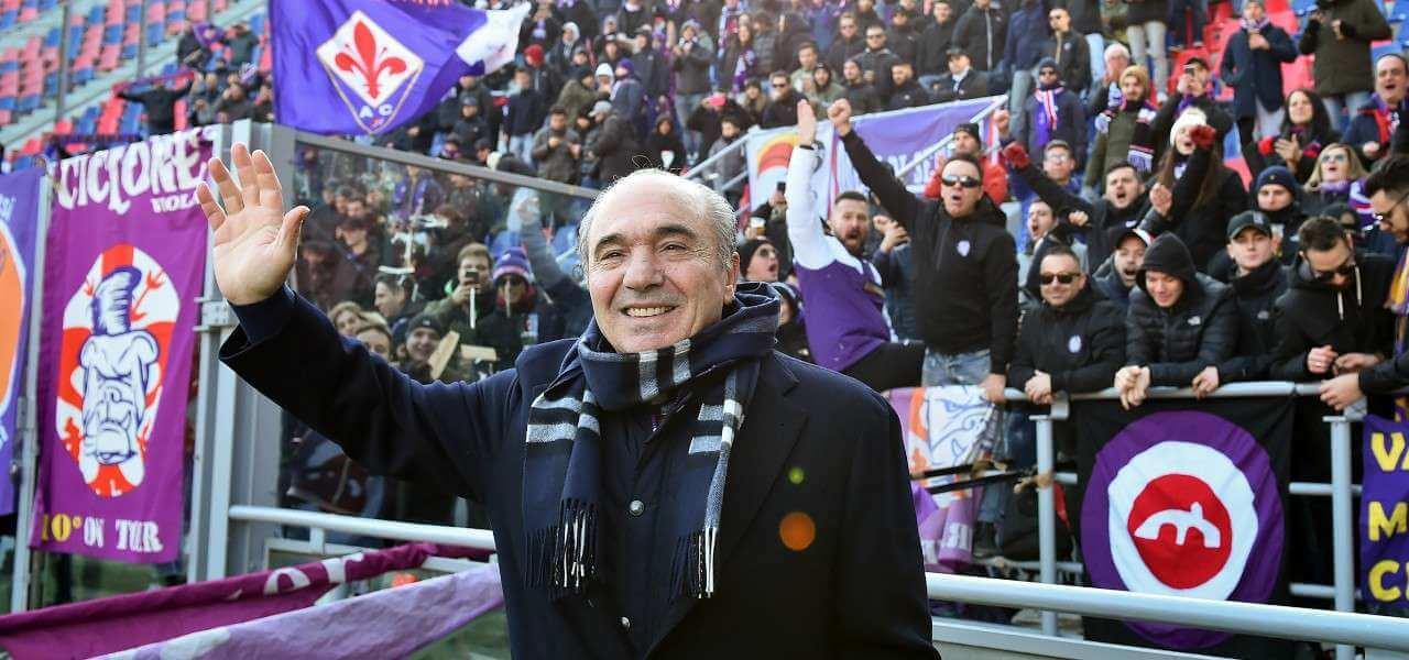 Rocco Commisso Fiorentina tifosi lapresse 2020