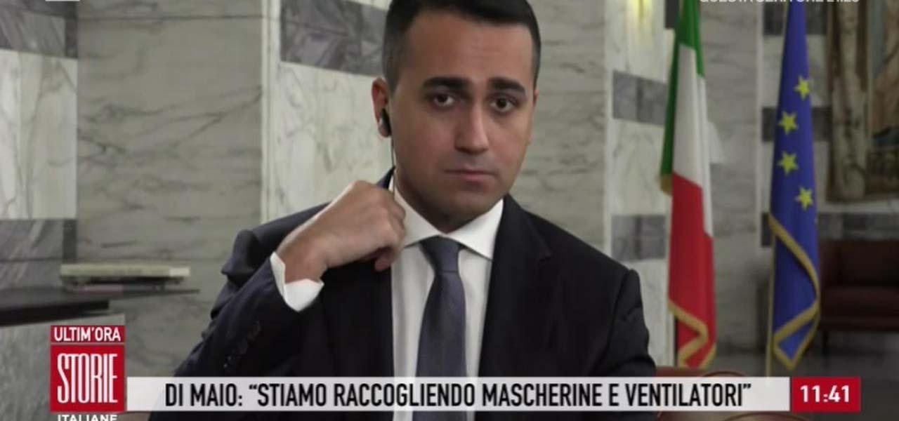 luigi di maio storie italiane