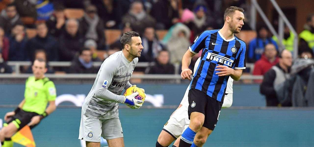 Handanovic De Vrij Inter lapresse 2020