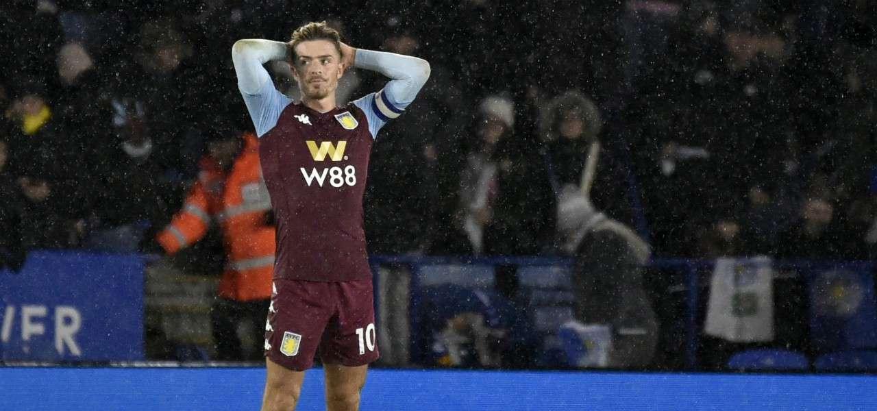 Jack Grealish Aston Villa delusione lapresse 2020