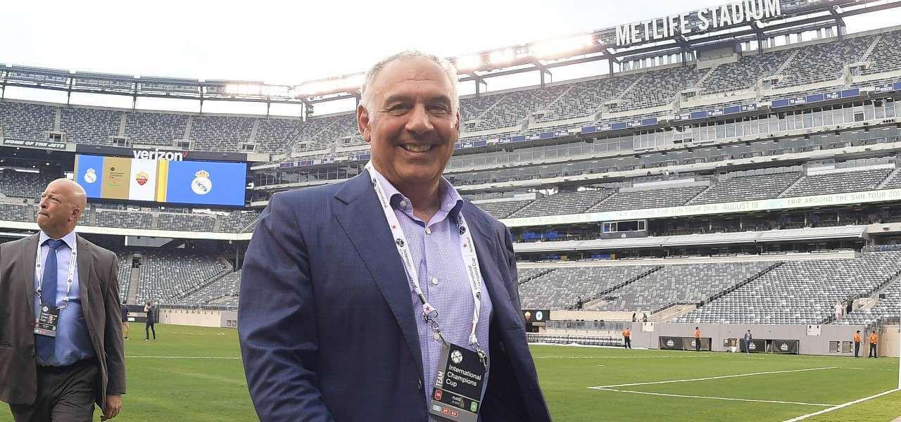 James Pallotta MetLife Stadium lapresse 2020