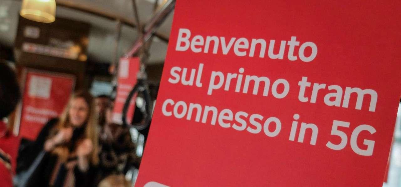 Tram 5G Vodafone lapresse 2020