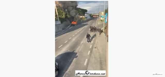 salerno uomo picchiato da 5 carabinieri