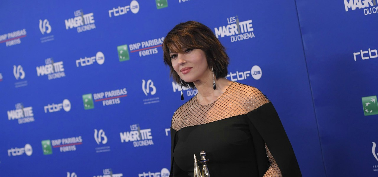 Monica Bellucci Magritte Awards lapresse 2020