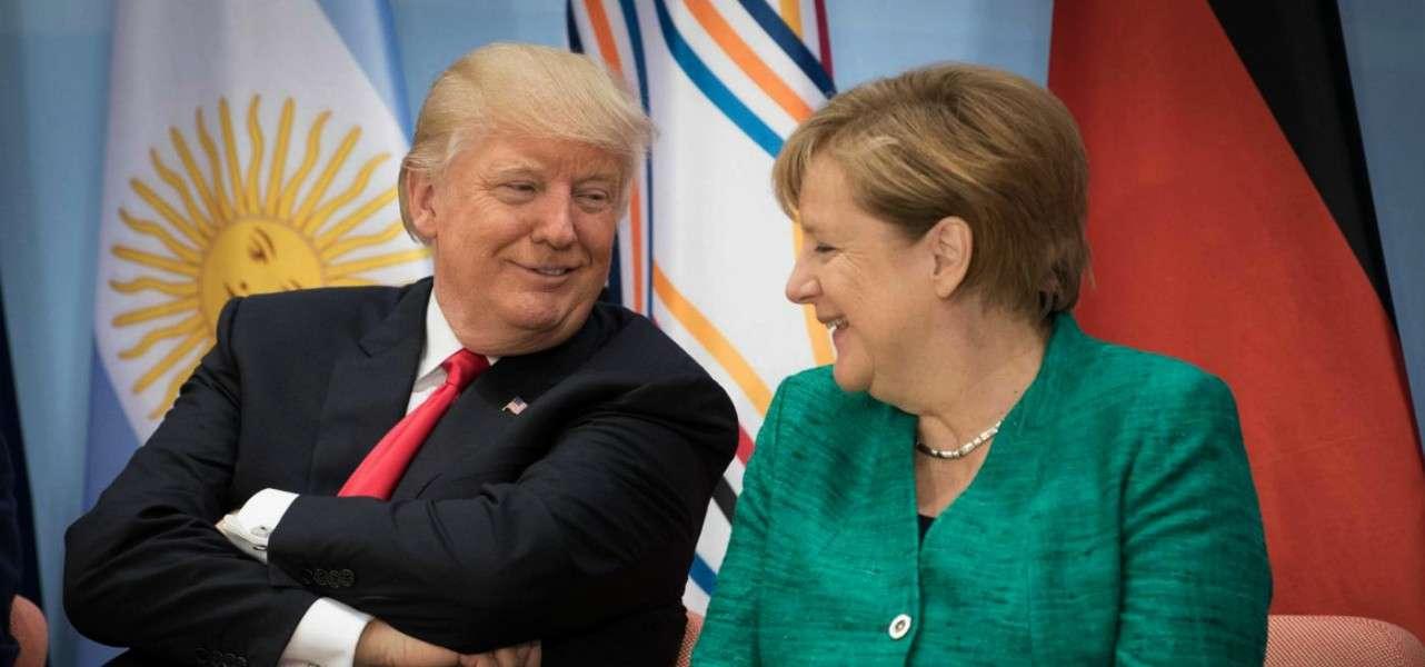 Coronavirus Trump Merkel