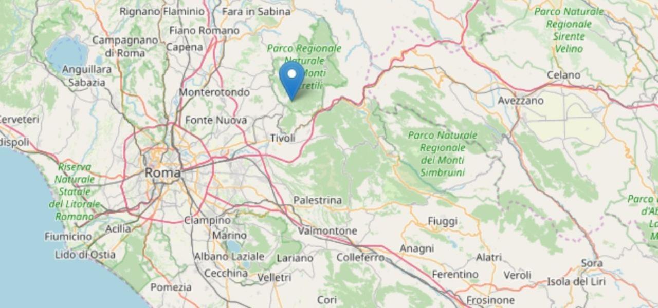 Terremoto oggi Roma M 3.0/ Ingv ultime scosse, 11 sismi in due ore ...