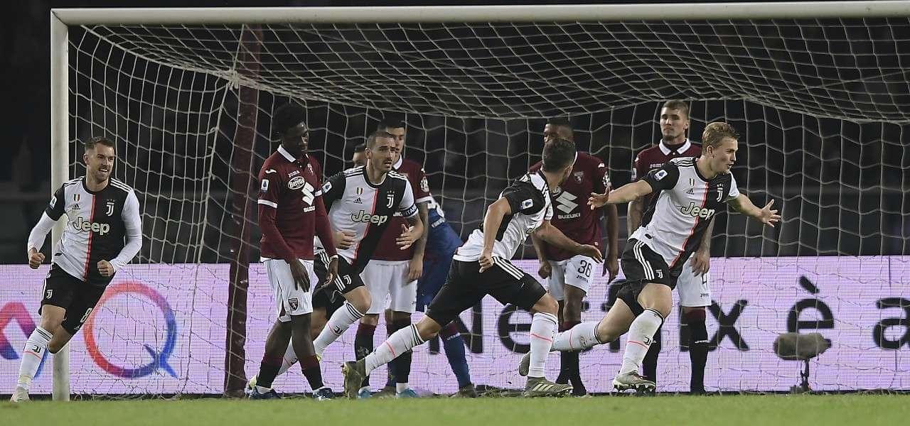 De Ligt gol Juventus Torino lapresse 2020