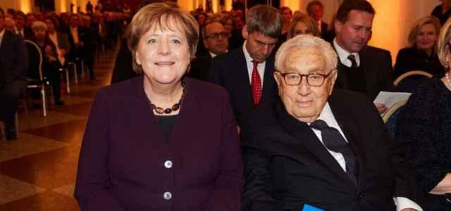 Merkel e Kissinger