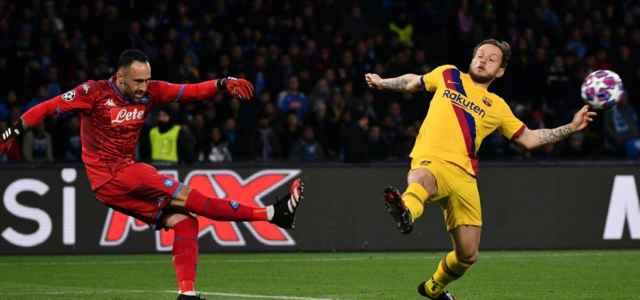 Ospina Rakitic Napoli Barcellona lapresse 2020 640x300