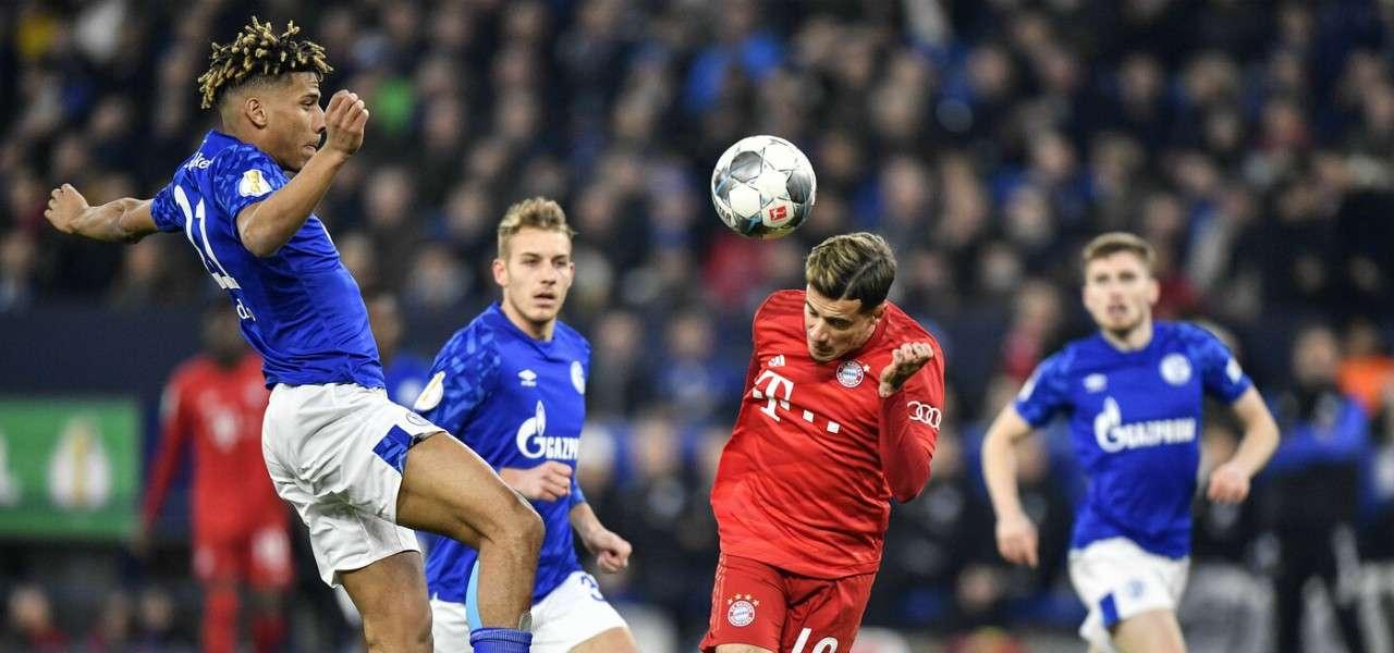 Philippe Coutinho testa Bayern Schalke lapresse 2020