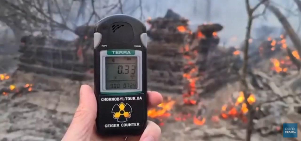 chernobyl radiazioni incendio