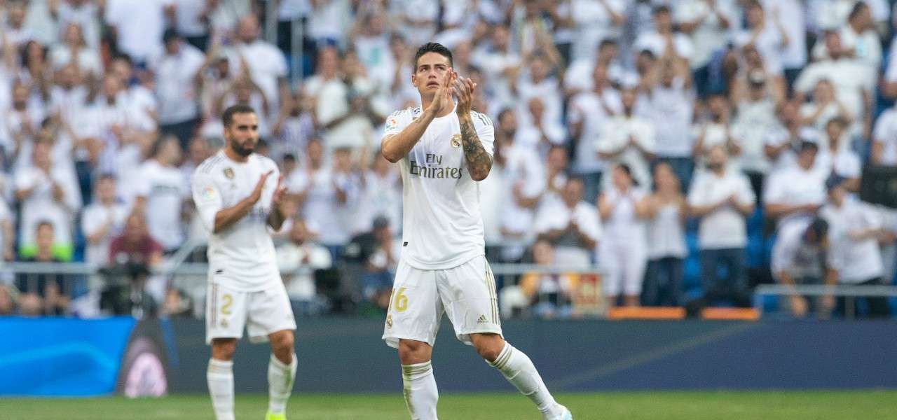 James Rodriguez Real Madrid lapresse 2020