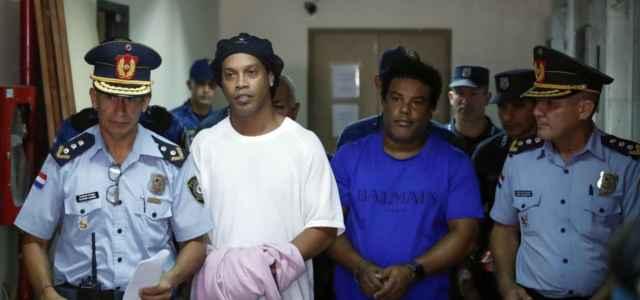 Ronaldinho Roberto arresto lapresse 2020 640x300