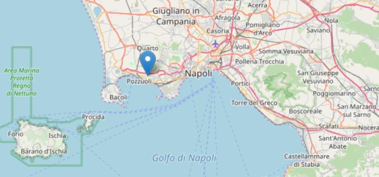 Terremoto Napoli INGV