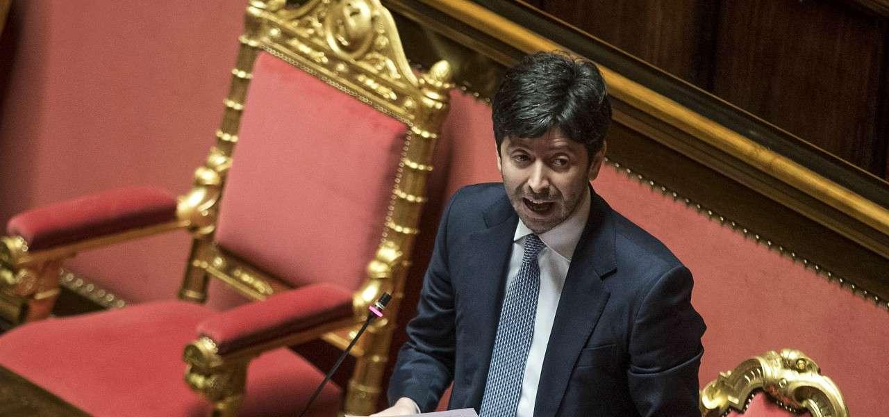 Roberto Speranza Parlamento lapresse 2020