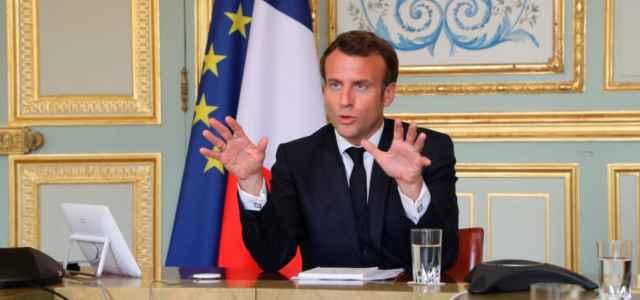 Macron discorso