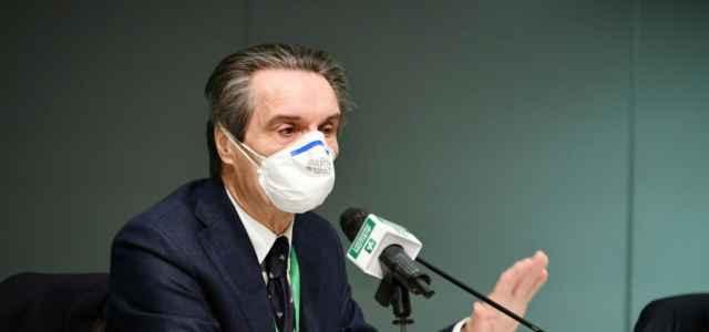 Conferenza stampa Giunta Lombardia