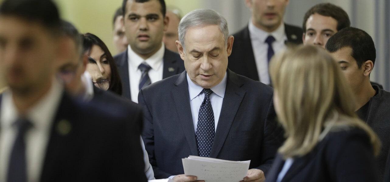 israele netanyahu 3 lapresse1280