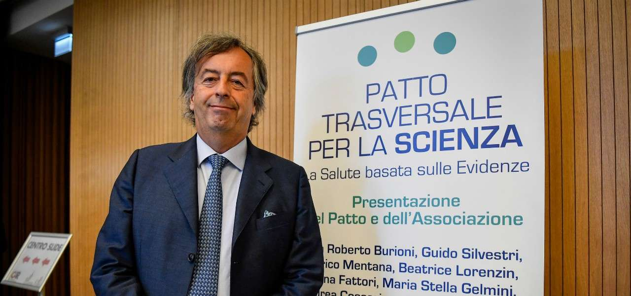 Roberto Burioni Patto Trasversale lapresse 2020