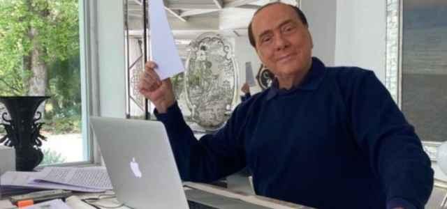 Berlusconi su Twitter