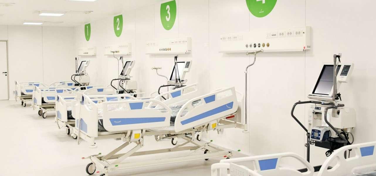 Ospedale fiera rianimazione