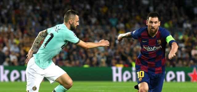 Messi Brozovic Barcellona Inter lapresse 2020 640x300