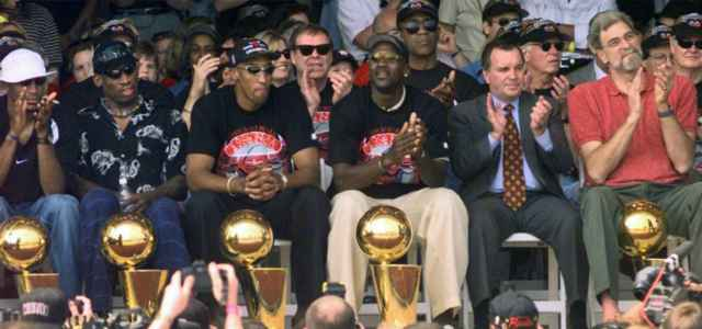 Rodman Pippen Jordan Jackson Bulls titolo lapresse 2020 640x300