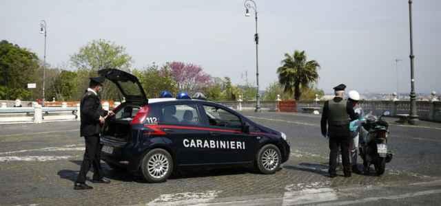 Carabinieri blocco lapresse 2020 640x300