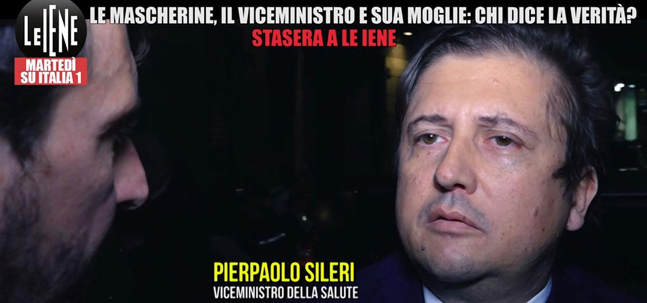 PIERPAOLO SILERI, MOGLIE VENDE MASCHERINE A OSPEDALI ...