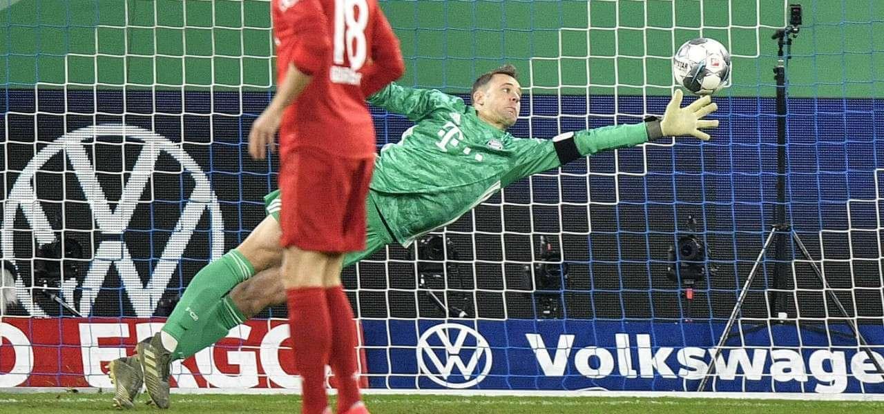 Manuel Neuer Bayern tuffo lapresse 2020