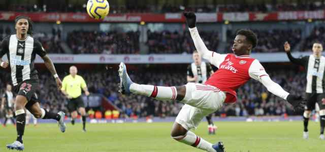 Bukayo Saka allungo Arsenal Newcastle lapresse 2020 640x300