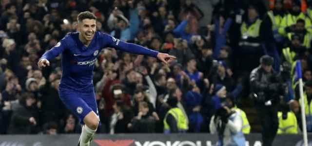 Jorginho Chelsea esultanza lapresse 2020 640x300