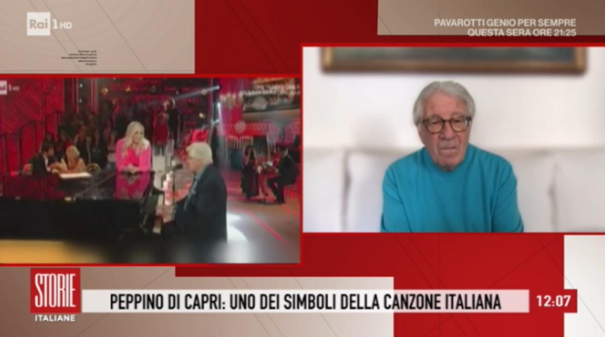 """Peppino Di Capri/ """"Sono chiuso in casa dal 5 marzo, Mia Martini era ..."""
